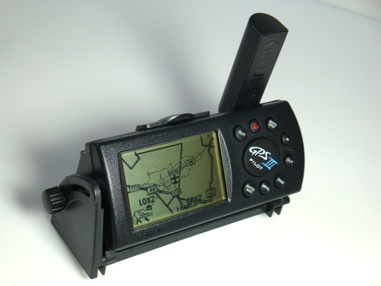 garmin gps iii pilot portabler gps empf nger. Black Bedroom Furniture Sets. Home Design Ideas
