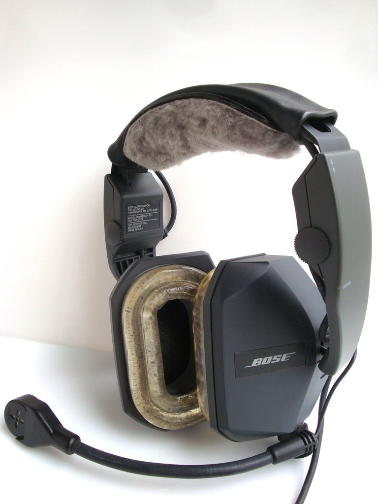 bose x aviation headset. bose serie ii aviation headset with 8-pin fischer connector x