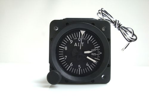 MidContinent 5237 Altimeter with Mb-Adjustment, lighted display