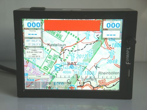 Flymap L with accessories