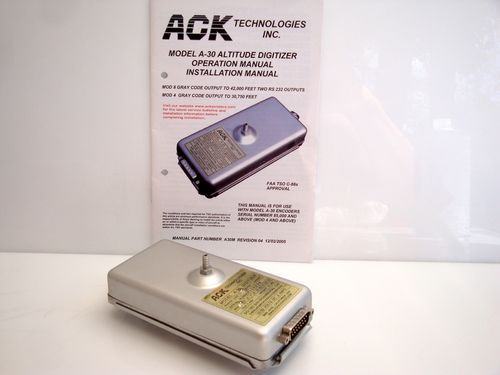 ACK Model A-30 Mode 4 Altitude Digitizer (Blind Altitude Encoder)