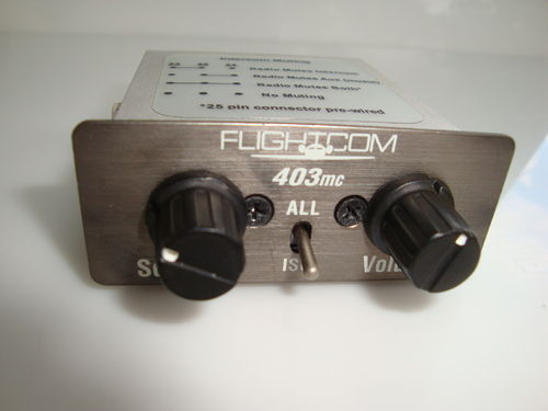 Flightcom 403 mc 4-Platz Intercom